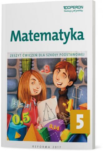 Matematyka. Klasa 5. Szkoła podstawowa. - okładka podręcznika
