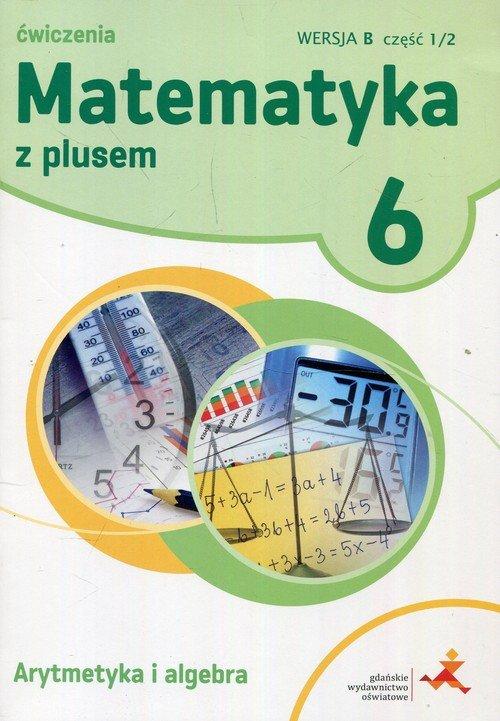 Matematyka z plusem. Klasa 6. Szkoła - okładka podręcznika