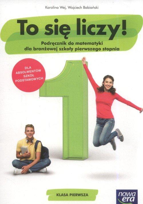 Matematyka ZSZ 1. To się liczy! - okładka podręcznika