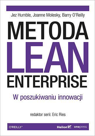 Metoda Lean Enterprise - okładka książki
