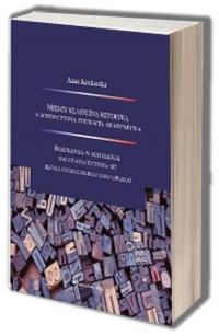 Między klasyczną retoryką a współczesną - okładka książki