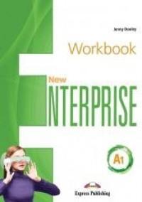 New Enterprise A1 WB+ DigiBook - okładka podręcznika