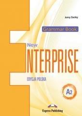 New Enterprise A2 Grammar Book - okładka podręcznika