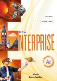 New Enterprise A2 SB (edycja wieloletnia) - okładka podręcznika