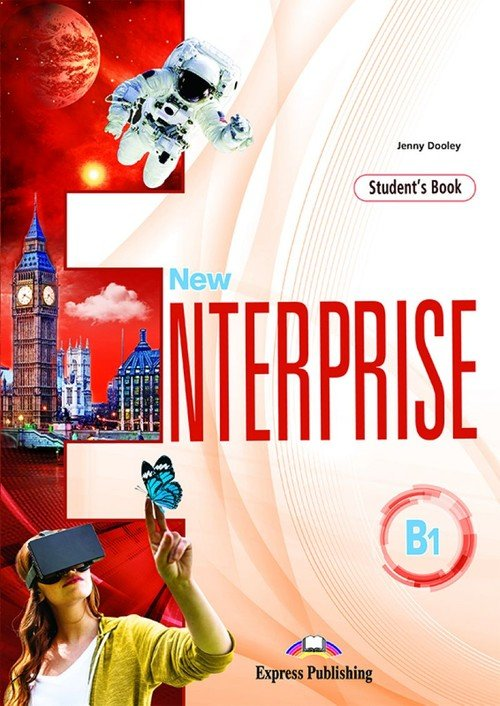 New Enterprise B1 SB (edycja wieloletnia) - okładka podręcznika