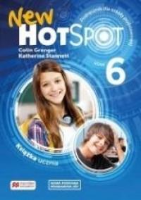 New Hot Spot 6 SB - okładka podręcznika