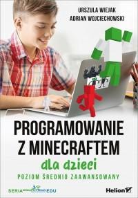 Programowanie z Minecraftem dla - okładka książki