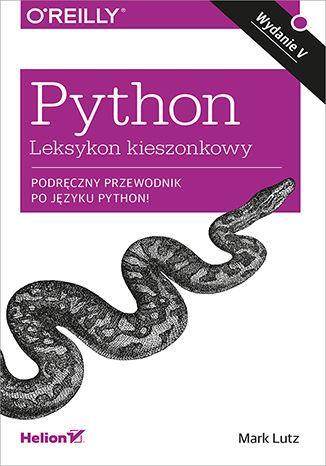 Python. Leksykon kieszonkowy - okładka książki