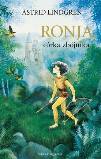 Ronja, córka zbójnika - okładka książki