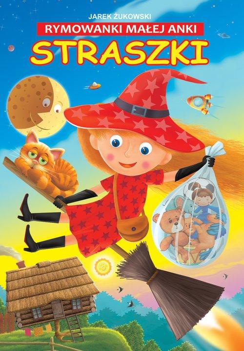 Rymowanki małej Anki Straszki - okładka książki