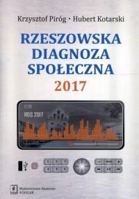 Rzeszowska diagnoza społeczna 2017 - okładka książki