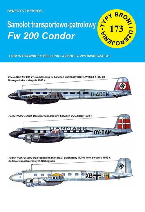Samolot transportowo-patrolowy - okładka książki