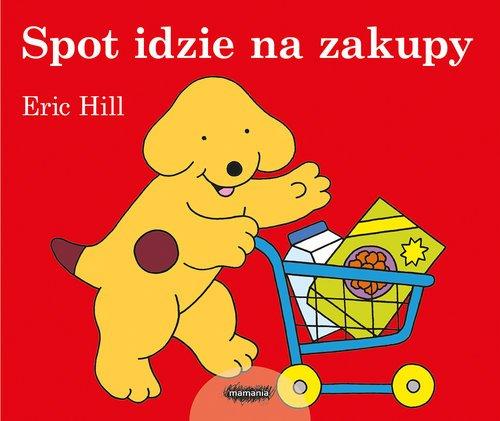 Spot idzie na zakupy - okładka książki