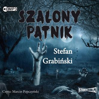 Szalony pątnik (CD mp3) - pudełko audiobooku