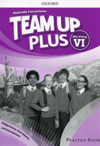 Team Up Plus 6. Materiały ćwiczeniowe - okładka podręcznika