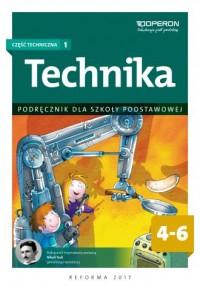 Technika. Klasa 4-6. Szkoła podstawowa. - okładka podręcznika