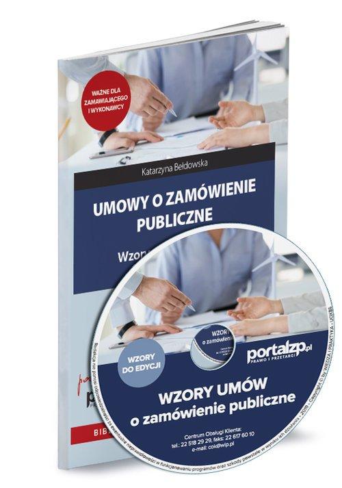 Umowy o zamówienie publiczne - okładka książki