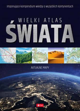 Wielki atlas świata - okładka książki