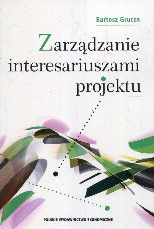 Zarządzanie interesariuszami projektu - okładka książki