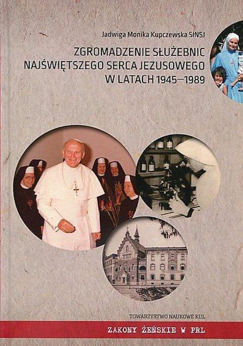 Zgromadzenie Służebnic Najświętszego - okładka książki