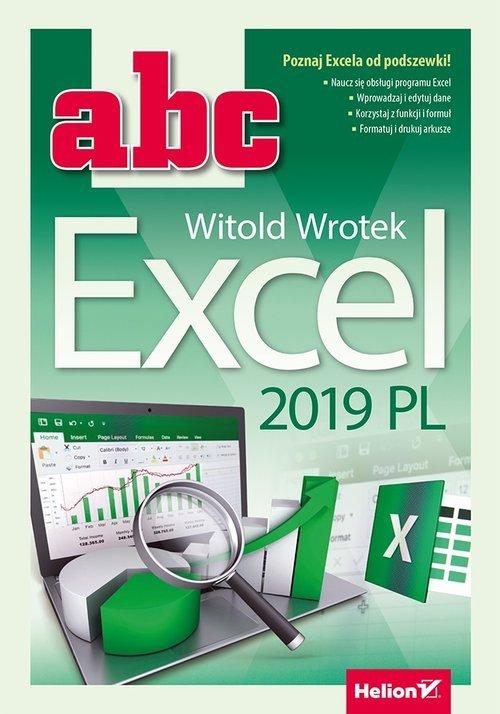ABC Excel 2019 PL - okładka książki