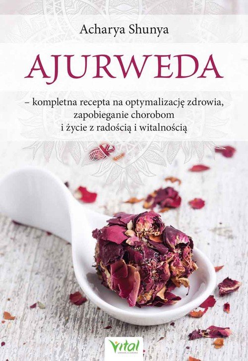 Ajurweda - kompletna recepta na - okładka książki