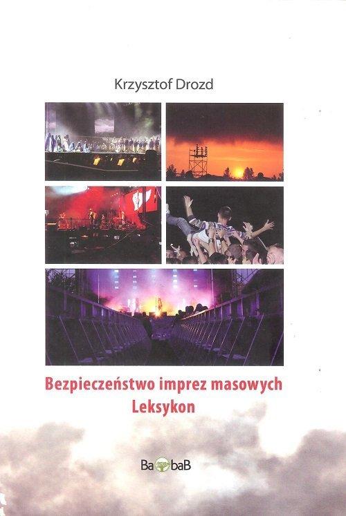Bezpieczeństwo imprez masowych - okładka książki