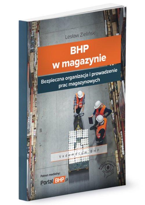BHP w magazynie - okładka książki