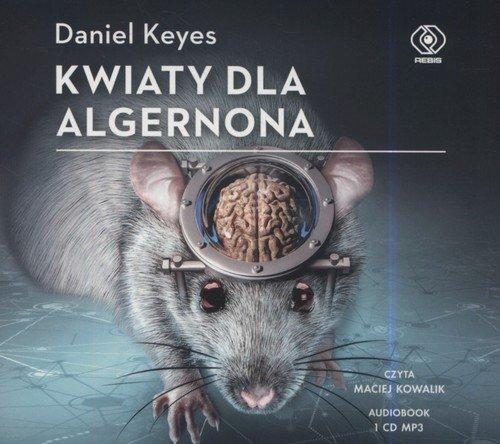 Kwiaty dla Algernona (CD mp3) - pudełko audiobooku