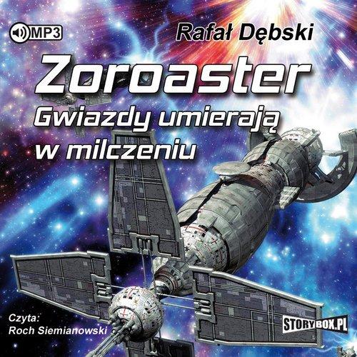 Zoroaster. Gwiazdy umierają w milczeniu - pudełko audiobooku