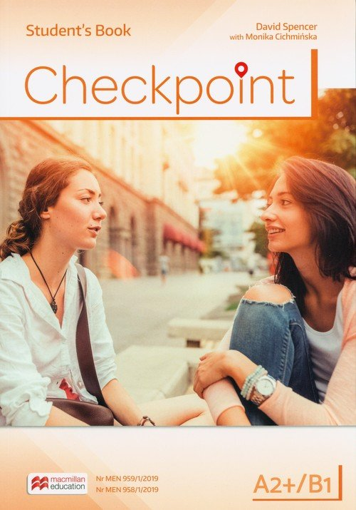Checkpoint A2+/B1 SB (wersja wieloletnia) - okładka podręcznika