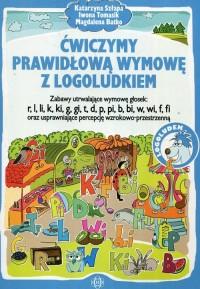 Ćwiczymy prawidłową wymowę z Logoludkiem. - okładka książki