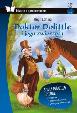 Doktor Dolittle i jego zwierzęta - okładka podręcznika
