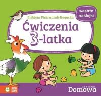 Domowa Akademia. Ćwiczenia 3-latka - okładka książki