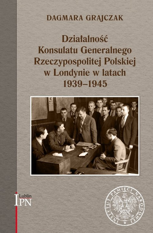 Działalność Konsulatu Generalnego - okładka książki