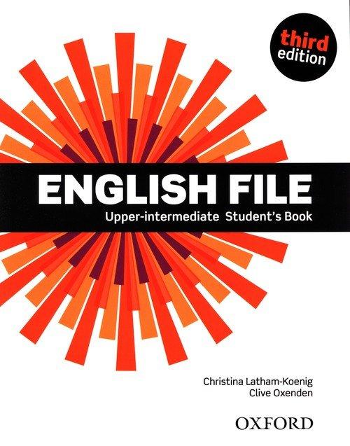 English File 3E Upper-Interm SB - okładka podręcznika