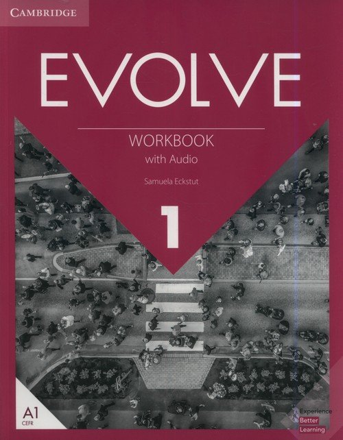 Evolve 1 Workbook with Audio - okładka podręcznika