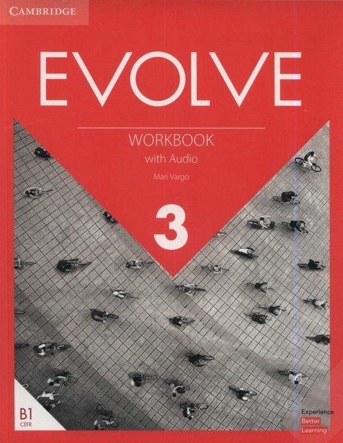 Evolve 3 Workbook with Audio - okładka podręcznika