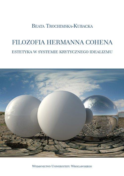 Filozofia Hermanna Cohena estetyka - okładka książki