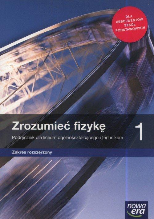 Fizyka. Zrozumieć fizykę. Podręcznik. - okładka podręcznika
