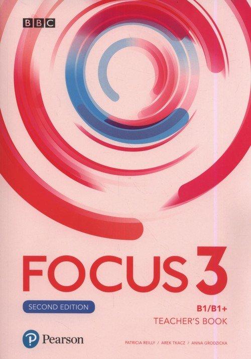 Focus Second Edition 3. Szkoła - okładka podręcznika