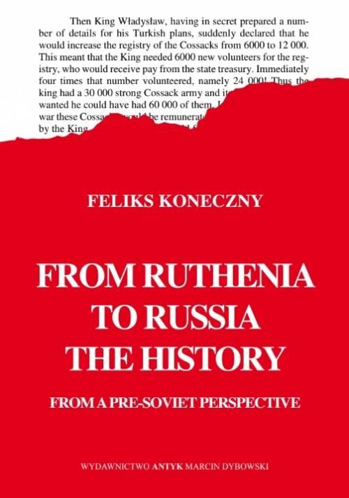 From Ruthenia to Russia. The history - okładka książki
