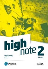 High Note 2 Workbook. Szkoła ponadpodstawowa - okładka podręcznika