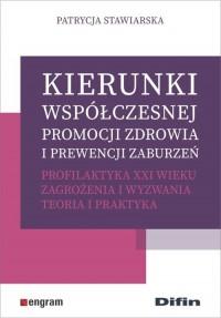 Kierunki współczesnej promocji - okładka książki