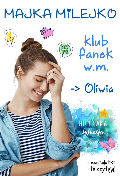 Klub Fanek W M Oliwia - okładka książki