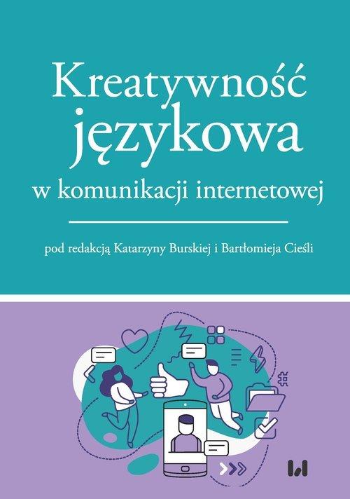 Kreatywność językowa w komunikacji - okładka książki