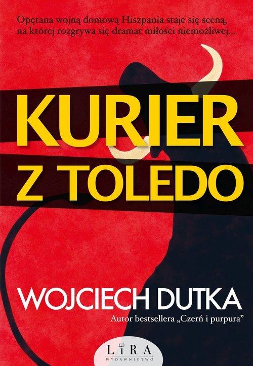 Kurier z Toledo - okładka książki