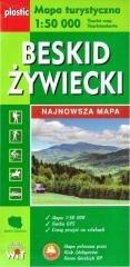 Mapa turystyczna - Beskid Żywiecki - okładka książki