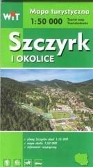 Mapa turystyczna - Szczyrk i okolice - okładka książki