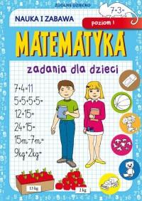 Matematyka Zadania dla dzieci Poziom - okładka książki